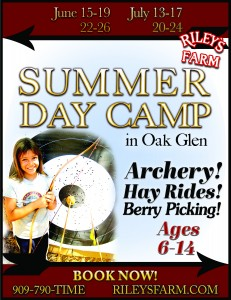 Summer Day Camp at Riley's Farm in Oak Glen
